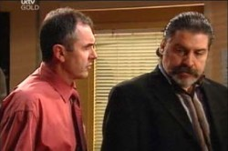 Karl Kennedy, Rocco Cammeniti in Neighbours Episode 4459