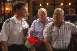 Lyndsay Hall, Harold Bishop, Lou Carpenter in Neighbours Episode 4464
