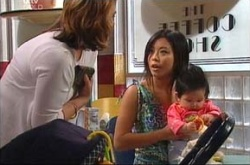 Lyn Scully, Lori Lee, Maddie Lee in Neighbours Episode 4466