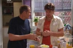 Max Hoyland, Gus Cleary in Neighbours Episode 4468