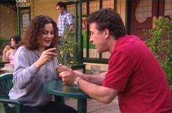 Liljana Bishop, Allan Steiger in Neighbours Episode 4475