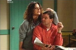 Liljana Bishop, David Bishop in Neighbours Episode 4475