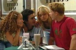 Serena Bishop, Stingray Timmins, Sky Mangel, Boyd Hoyland in Neighbours Episode 4495