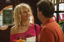 Krystal, David Bishop in Neighbours Episode 4495
