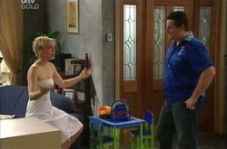 Sindi Watts, Toadie Rebecchi in Neighbours Episode 4496