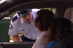 Stuart Parker, Lyn Scully, Liljana Bishop in Neighbours Episode 4500