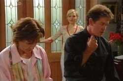 Susan Kennedy, Tom Scully, Sindi Watts in Neighbours Episode 4504