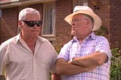 Lou Carpenter, Harold Bishop in Neighbours Episode 4506