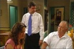 Liljana Bishop, David Bishop, Harold Bishop in Neighbours Episode 4507