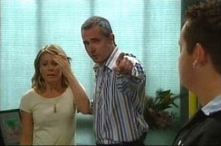 Izzy Hoyland, Karl Kennedy, Toadie Rebecchi in Neighbours Episode 4511