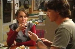 Darren Stark, Libby Kennedy in Neighbours Episode 4512