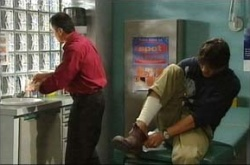 Karl Kennedy, Jack Scully in Neighbours Episode 4514