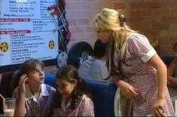 Summer Hoyland, Lisa Jeffries, Sky Mangel in Neighbours Episode 4514