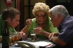 Valda Sheergold, Lou Carpenter, Connor O