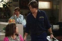 Libby Kennedy, Susan Kennedy, Darren Stark in Neighbours Episode 4517