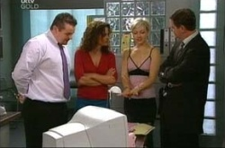 Toadie Rebecchi, Liljana Bishop, Sindi Watts, David Bishop in Neighbours Episode 4520
