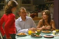 Summer Hoyland, Max Hoyland, Steph Scully in Neighbours Episode 4523