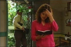 Liljana Bishop, David Bishop in Neighbours Episode 4524