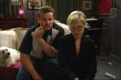 Toadie Rebecchi, Sindi Watts in Neighbours Episode 4524