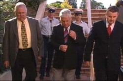 Lou Carpenter, Harold Bishop, Toadie Rebecchi in Neighbours Episode 4524