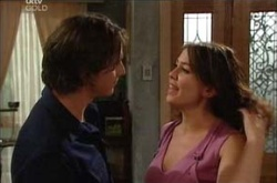 Darren Stark, Libby Kennedy in Neighbours Episode 4525