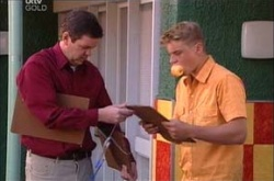David Bishop, Boyd Hoyland in Neighbours Episode 4526