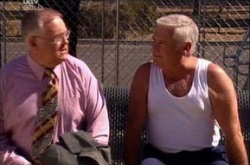 Harold Bishop, Lou Carpenter in Neighbours Episode 4529