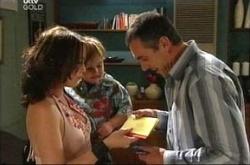 Libby Kennedy, Ben Kirk, Karl Kennedy in Neighbours Episode 4530
