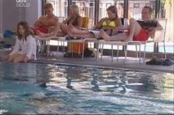 Summer Hoyland, Boyd Hoyland, Sky Mangel, Steph Scully, Max Hoyland in Neighbours Episode 4533