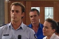 Stuart Parker, Karl Kennedy, Libby Kennedy in Neighbours Episode 4533