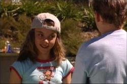 Summer Hoyland, Caleb Wilson in Neighbours Episode 4534