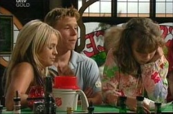 Sky Mangel, Boyd Hoyland, Summer Hoyland in Neighbours Episode 4534