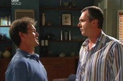 Tom Scully, Karl Kennedy in Neighbours Episode 4535