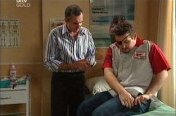 Karl Kennedy, Toadie Rebecchi in Neighbours Episode 4536