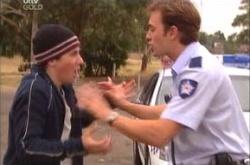 Stuart Parker, Stingray Timmins in Neighbours Episode 4536