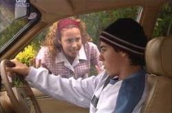 Serena Bishop, Stingray Timmins in Neighbours Episode 4536