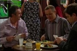 Karl Kennedy, Max Hoyland, David Bishop in Neighbours Episode 4539