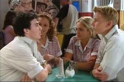 Serena Bishop, Stingray Timmins, Sky Mangel, Boyd Hoyland in Neighbours Episode 4541