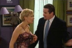 Sindi Watts, Toadie Rebecchi in Neighbours Episode 4545