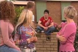 Serena Bishop, Sky Mangel, Boyd Hoyland, Stingray Timmins, Sindi Watts in Neighbours Episode 4546