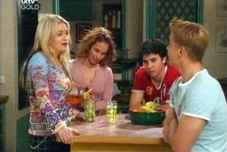 Sky Mangel, Serena Bishop, Stingray Timmins, Boyd Hoyland in Neighbours Episode 4546