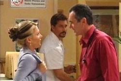 Karl Kennedy, Izzy Hoyland, Darcy Tyler in Neighbours Episode 4546