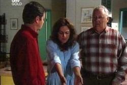 David Bishop, Liljana Bishop, Harold Bishop in Neighbours Episode 4548