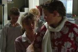 Summer Hoyland, Caleb Wilson in Neighbours Episode 4548