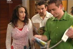 Libby Kennedy, Toadie Rebecchi, Connor O