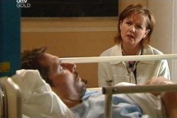 Darcy Tyler, Susan Kennedy in Neighbours Episode 4552