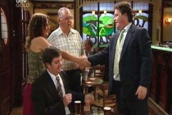 Liljana Bishop, David Bishop, Harold Bishop, Trent Webster in Neighbours Episode 4553