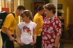 Summer Hoyland, Caleb Wilson in Neighbours Episode 4555