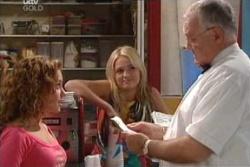 Serena Bishop, Sky Mangel, Harold Bishop in Neighbours Episode 4556