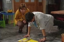 Stingray Timmins, Susan Kennedy in Neighbours Episode 4557